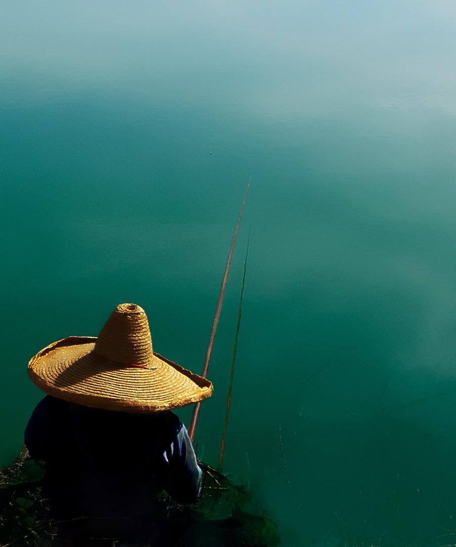 Sombrero fisherman
