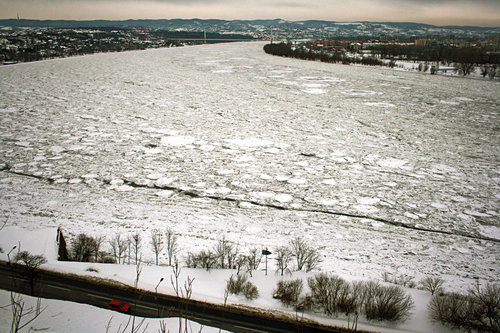 Acilim13 Na lepom zaleđenom Dunavu