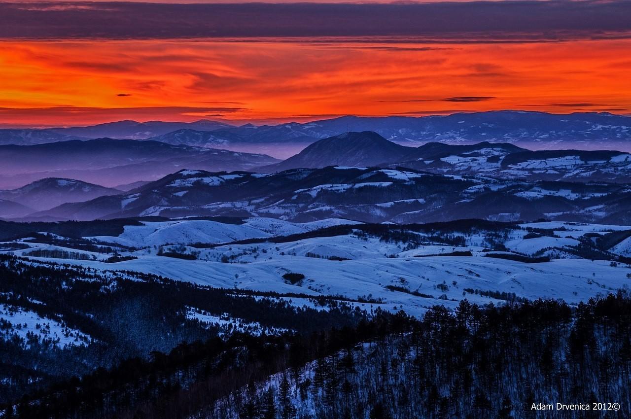 Izlazak sunca sa kraljevog stola (divcibare)