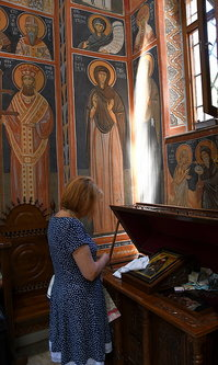 AleksaSrbin у молитви