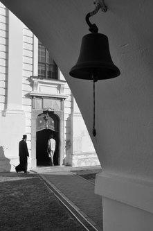 AleksaSrbin odlazak na liturgiju