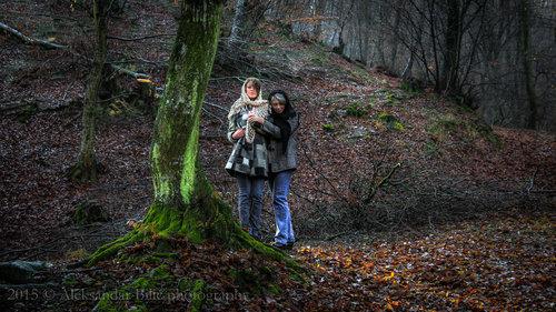 Aleksandar Majka i kćerka