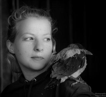 Blondie Devojka sa pticom 2