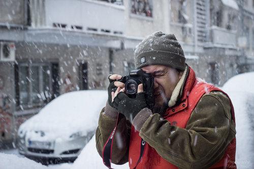 Blondie Po snegu i vetru i debelom minusu...