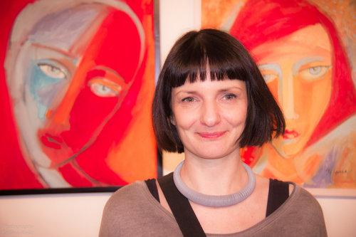 Blondie Portret umetnice II