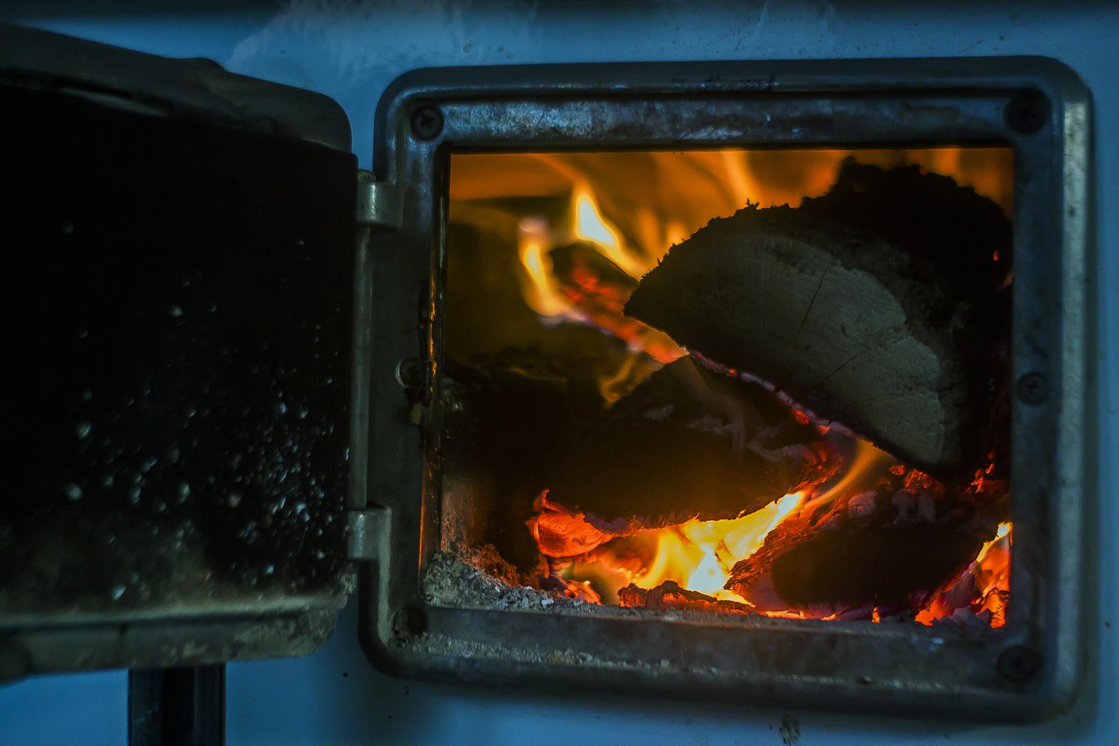 Vatra u peći