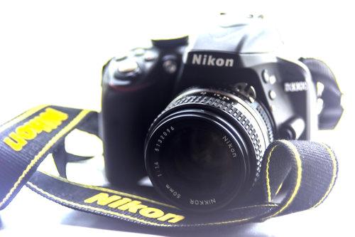 BlueSabbath Nikkor 50mm f/1.4