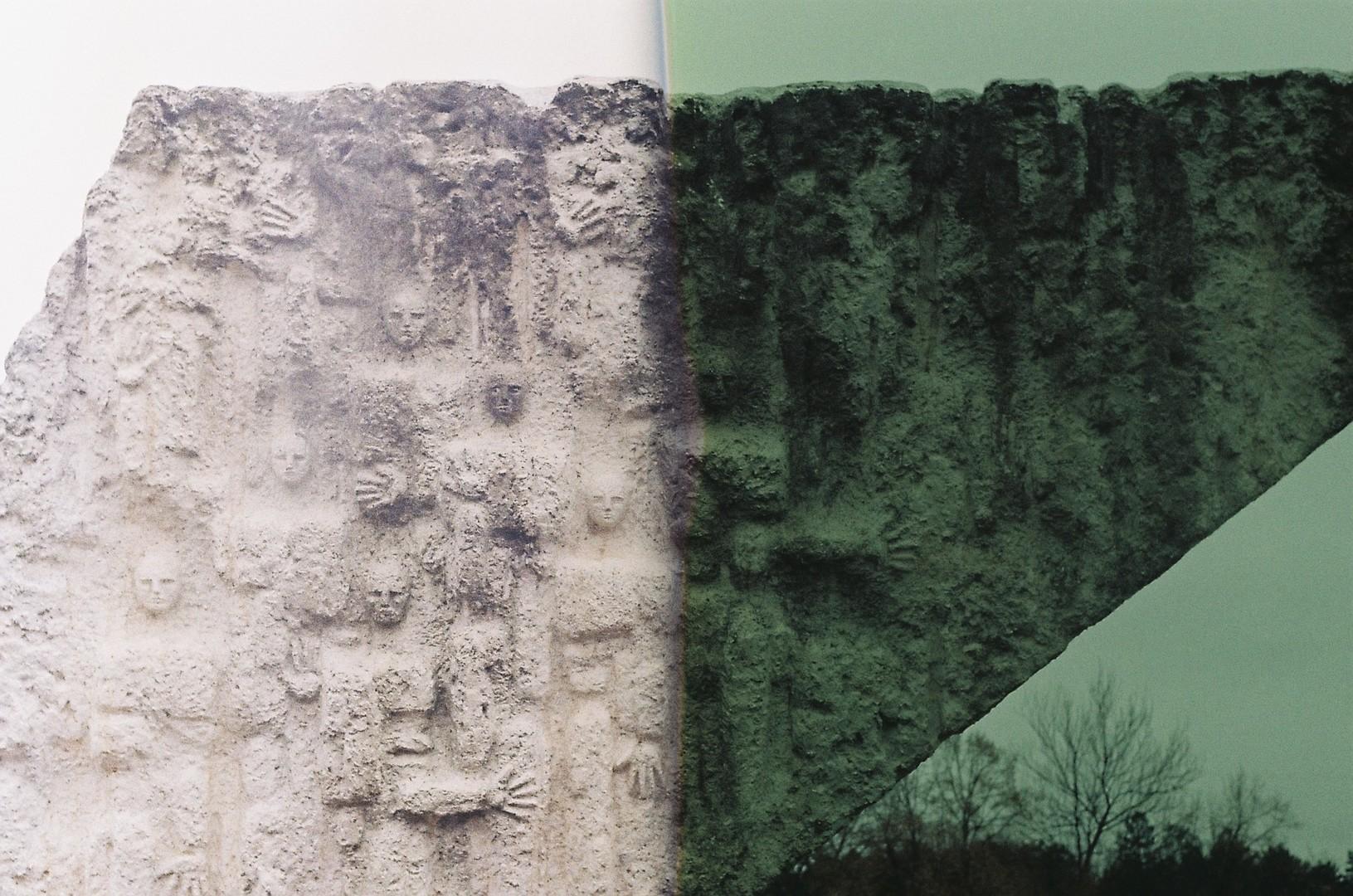 Spomenik streljanim đacima, detalji 1
