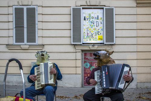 BlueSabbath Maskirani muzičari