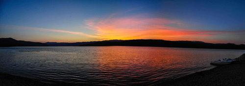 Bluealek Zalazak sunca u Tekiji