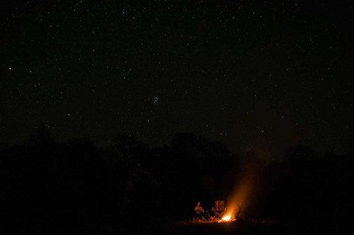 Bluealek Noć pod zvezdanim nebom u Karpatima