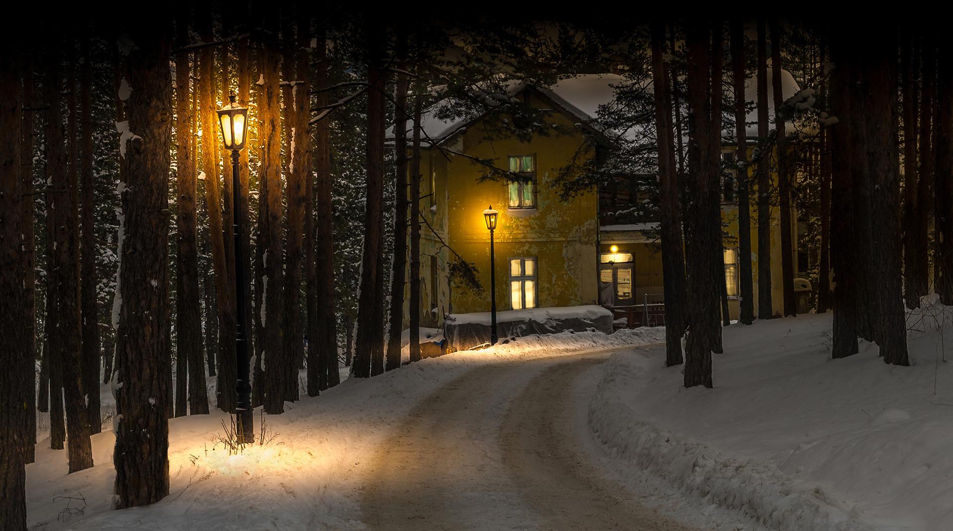Kuća pored puta