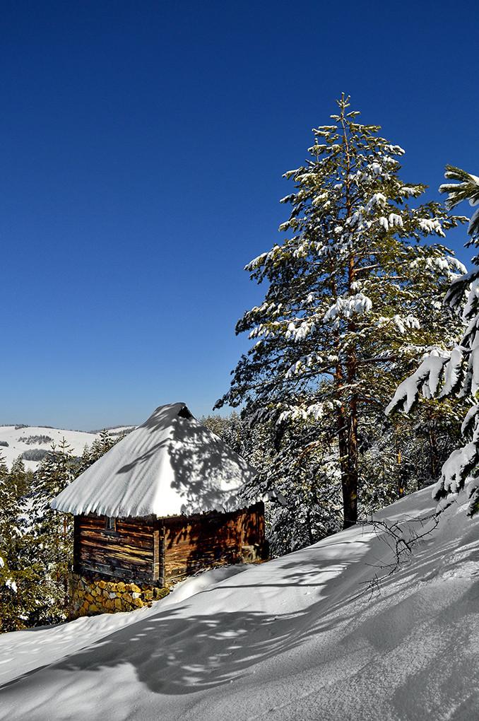 Zimska idila na Zlatiboru.