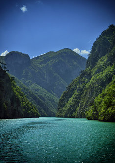 Brkica956 Drinom kroz kanjon jezera Perucac