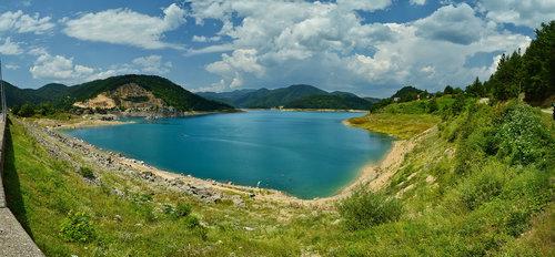 Brkica956 Panorama jezera Zaovine-Tara