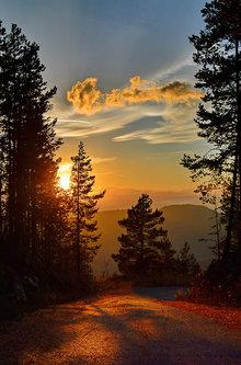 Brkica956 Tornik,zalazak sunca.