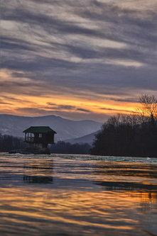 Brkica956 Zalazak sunca na Drini