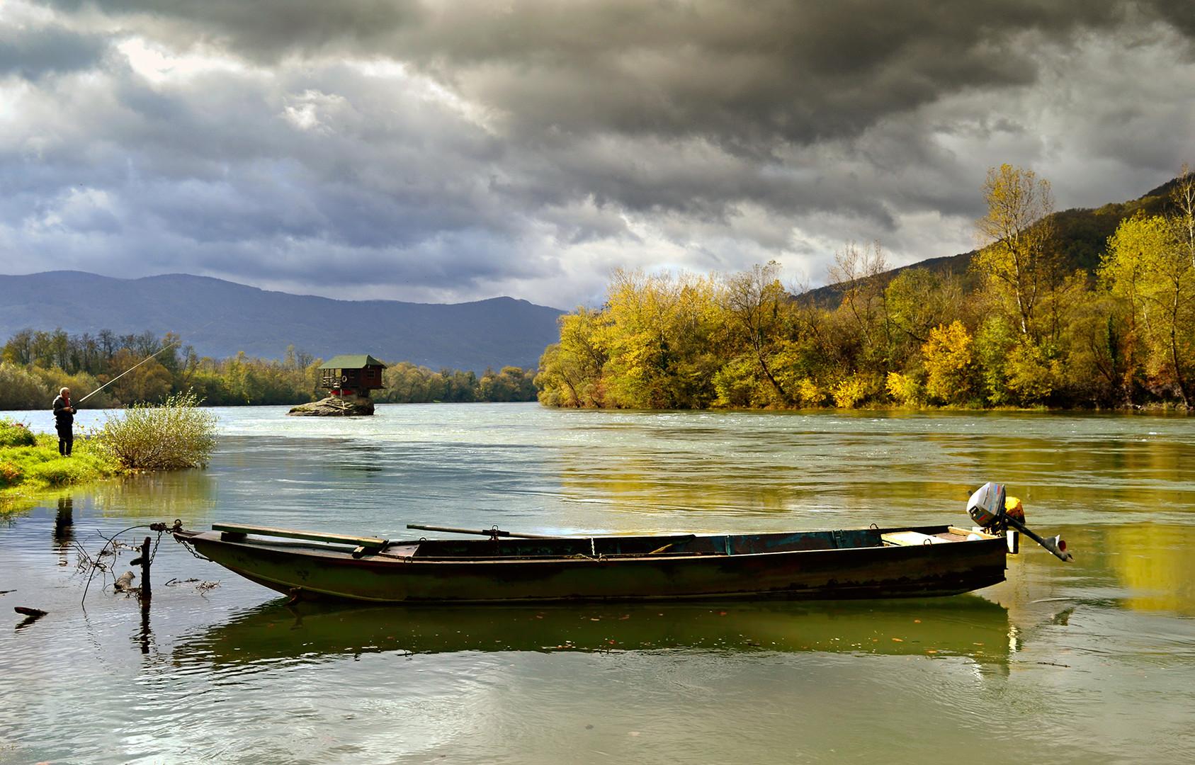 Drina i ribar.