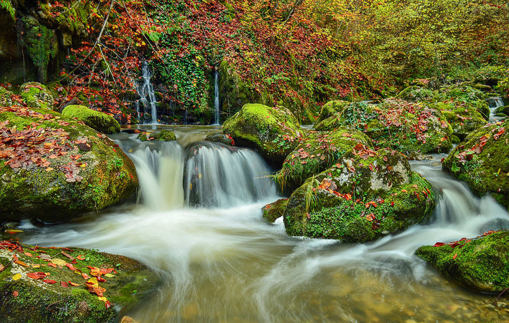 Jesen, reka Raca.
