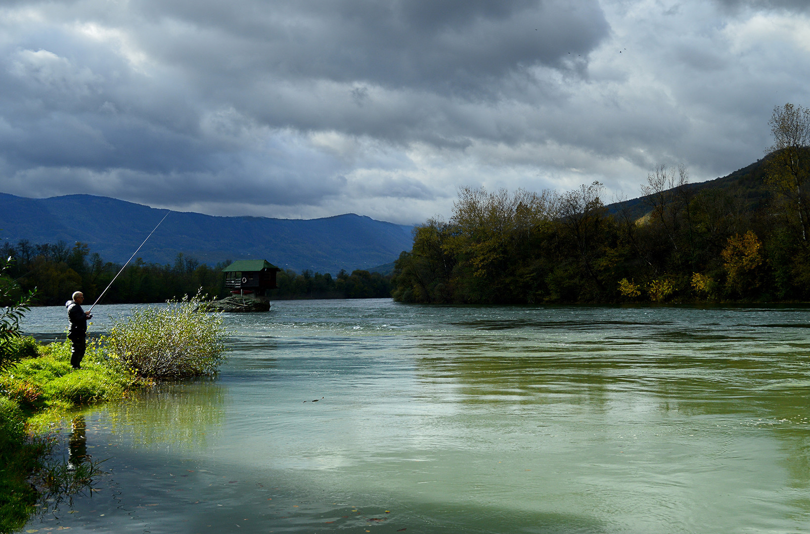 Ribar na Drini