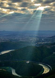 Brkica956 I bi svetlost tog jutra ka manastiru Uspenje.