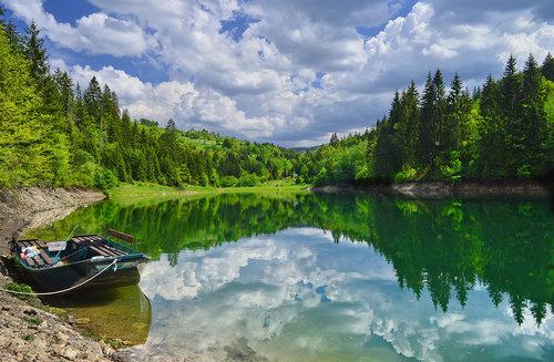 Brkica956 Refleksija jezero