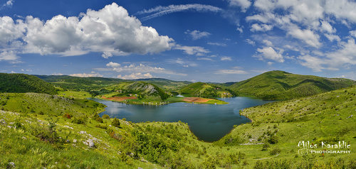 Brkica956 Uvacko jezero ,Saponjica zaliv.