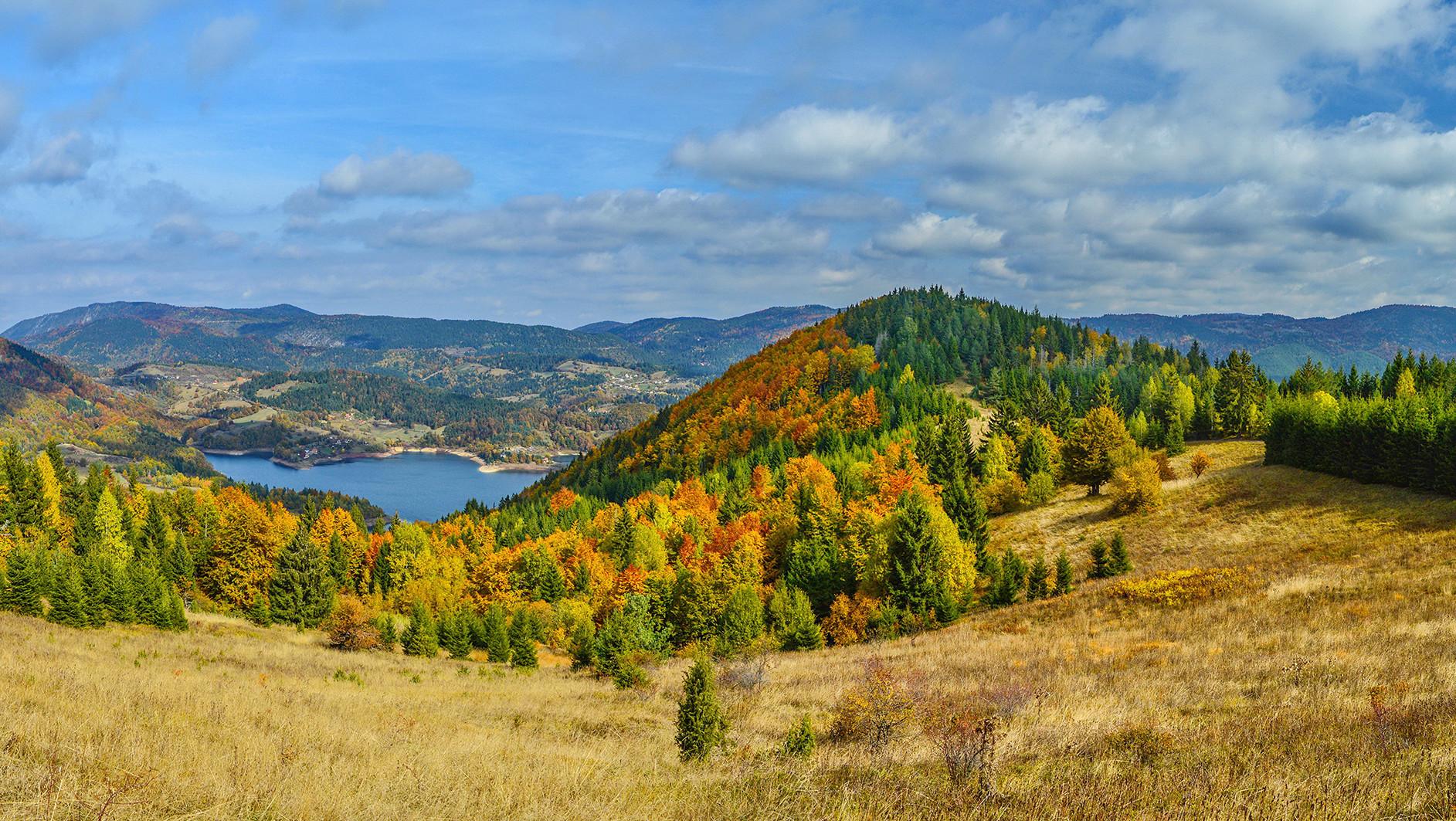 Tara-Zaovine u jesenje dane.