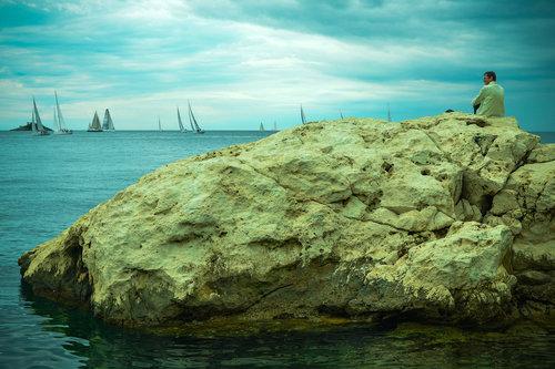 Dedika Starac i more