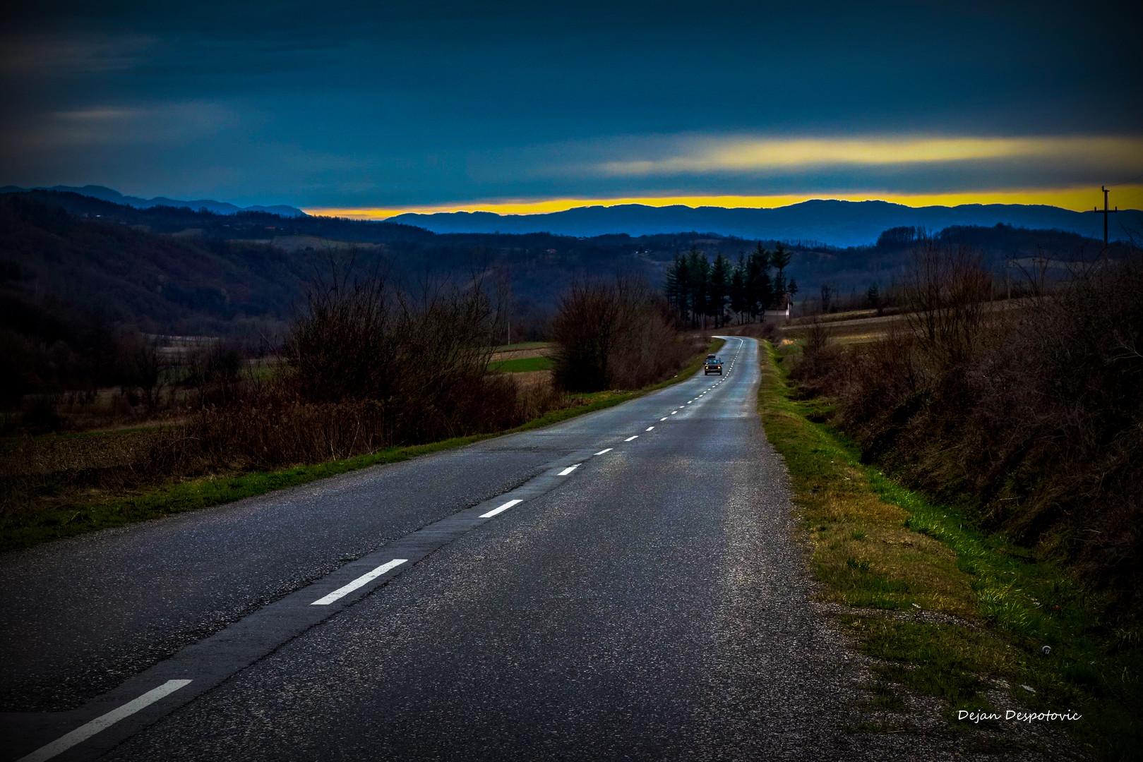 Put kojim se redje ide...