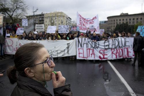 DzoniBoy Protest