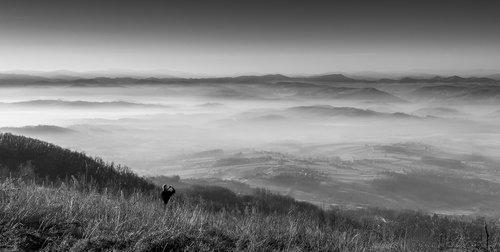 GileCA Man and fog
