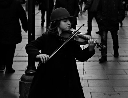 Grimasa Violinista u knezu