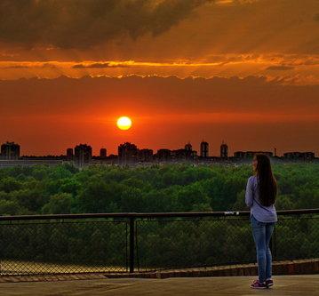 Grimasa Jedan Beogradski sunset