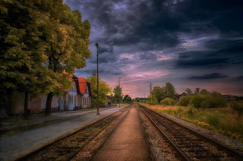 Irena Vlakom prema jugu