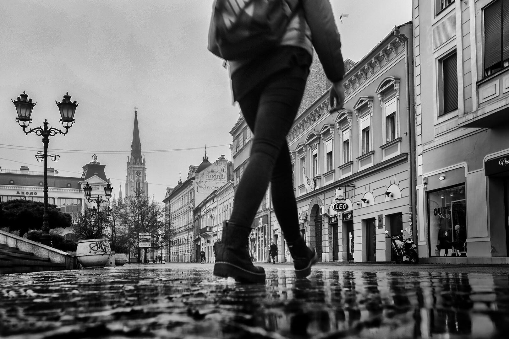 Kad hodaš