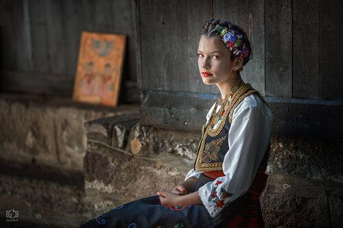 Jordanac Jelena, devojka iz Gruze