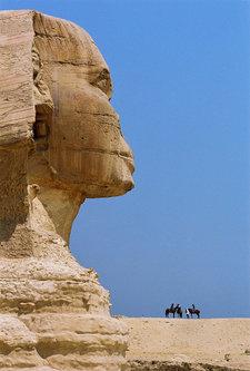 Kecalkoatl Sfinga i konjanici