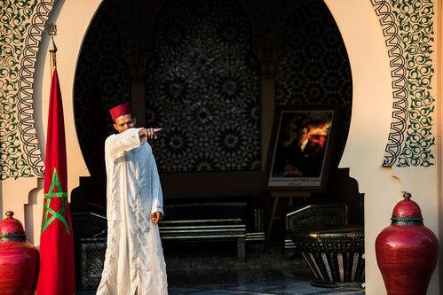 Ledena Marokanski kralj