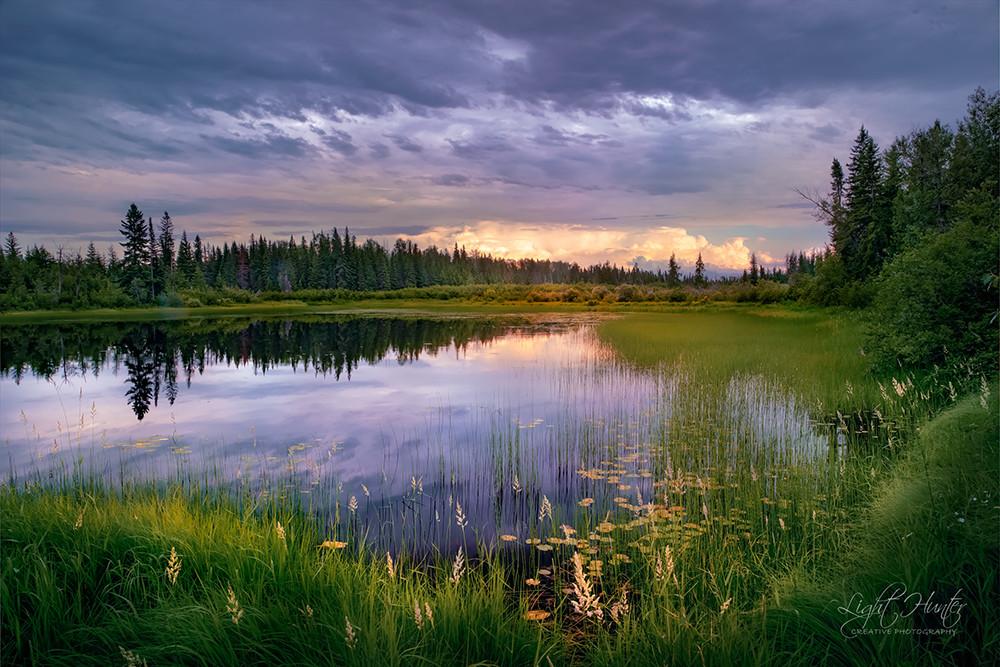 Kapuskasing lake ...