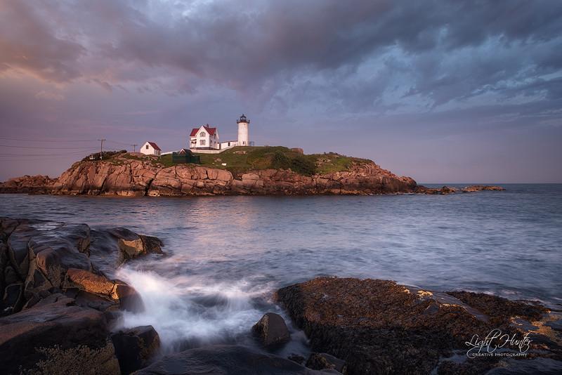Nubble lighthouse ...