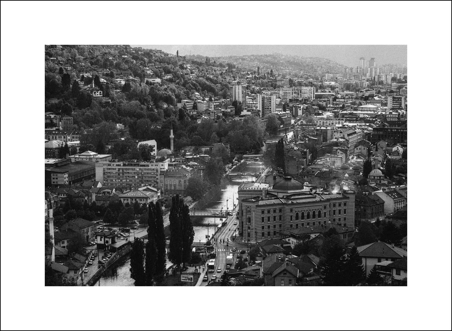 Sarajevo b&w