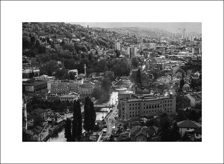 Livancic Sarajevo b&w