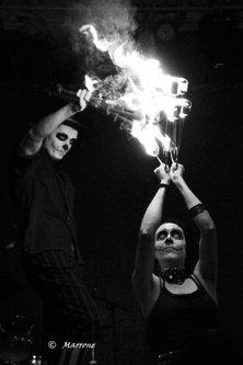 Marrone fire,woman,man...