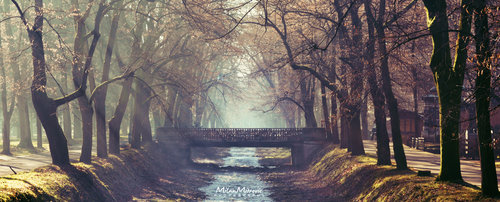 Milan_Mitrovic Jesenje jutro na Mostu ljubavi