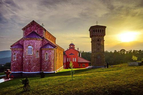 MilosKaraklic Manastir Rujno sunaset