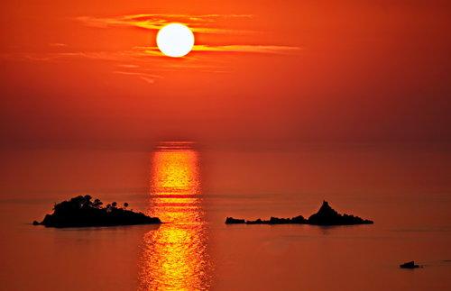 MilosKaraklic More sunce zalazak