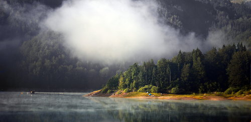 MilosKaraklic Tara jezero Zaovine