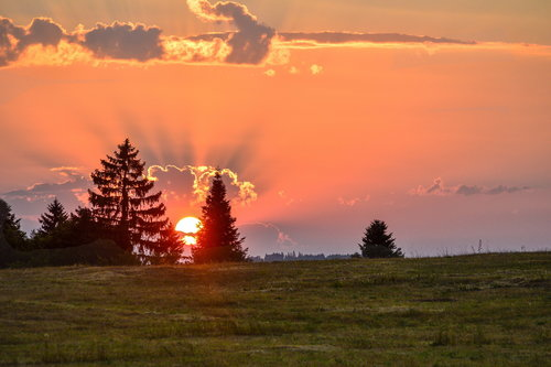 MilosKaraklic Tara zalazak sunca
