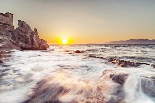MirBal zalazak na moru